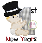 First New Year's Applique