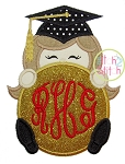 Grad Peeker Girl Applique