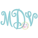 Curtsy Large Monogram