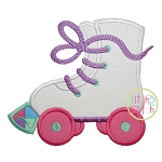 Roller Skates Applique