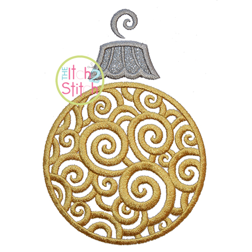 Scroll Ornament Applique