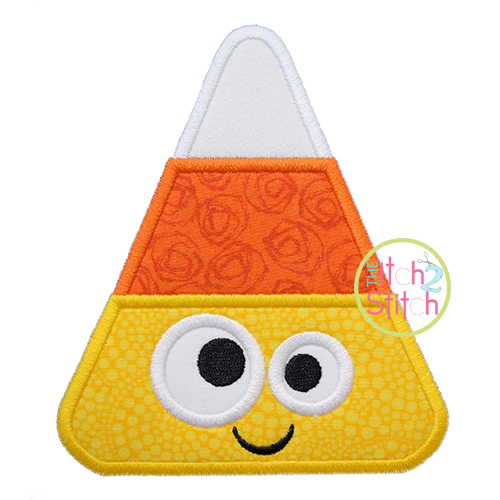 Silly Candy Corn Applique