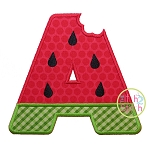 Watermelon Alphabet Set Applique