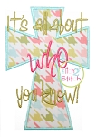 It's All About Who You Know 2 Applique
