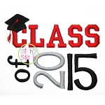 Class of 2015 Embroidery