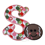 Gingerbread  Alpha Applique Font