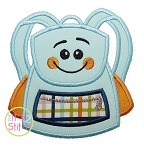 Happy Backpack Applique