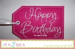 ITH Happy Birthday Gift Card Holder & Gift Tag