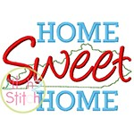 Home Sweet Home Kentucky Embroidery