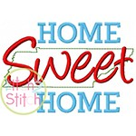 Home Sweet Home Tennessee Embroidery