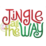 Jingle All the Way Embroidery