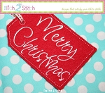 ITH Merry Christmas Gift Card Holder & Gift Tag
