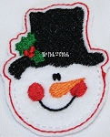 Mini Felt Design Snowman Face