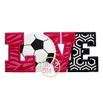 Soccer Love Applique