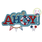 Ahoy Applique