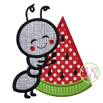 Ant Hugs Watermelon Applique