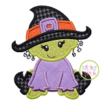 Baby Witch Applique