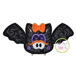Bat Girl Applique