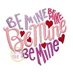 Be Mine Heart Embroidery