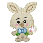 Bunny Boy Applique