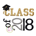 Class of 2018 Embroidery