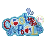 Cool in the Pool Applique