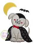 Dracula Dog Applique