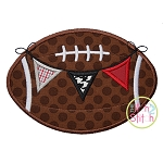 Football Pennant 2 Applique