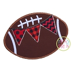 Football Pennant Applique