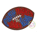 Friday Nights Under the Lights Applique