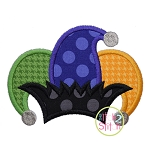 Jester Hat Applique
