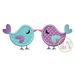 Love Birds 2 Applique