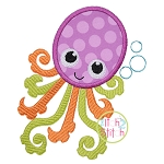 Octopus 2 Applique