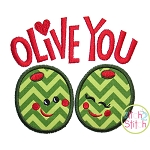 Olive You Applique
