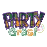 Party Gras Applique