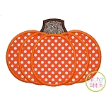 Pumpkin 2 Applique