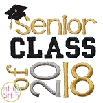 Senior Class of 2018 Embroidery