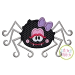 Spider Girl Applique