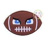 Tough Football Applique