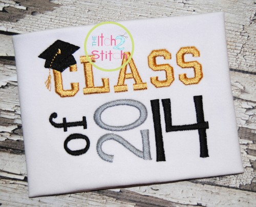 Class of 2014 Embroidery