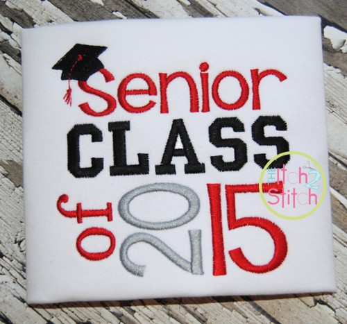Senior Class of 2015 Embroidery