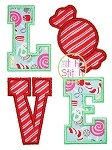 Candy Love Applique