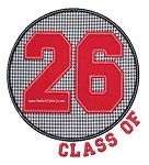 Class of 26 Circle Applique