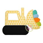 Easter Dozer Applique