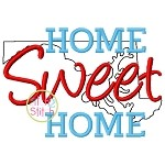 Home Sweet Home Maryland Embroidery