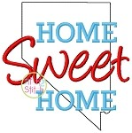 Home Sweet Home Nevada Embroidery