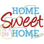 Home Sweet Home New York Embroidery