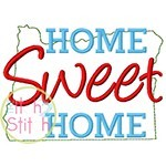 Home Sweet Home Oregon Embroidery
