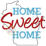 Home Sweet Home Wisconsin Embroidery