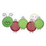Ornament Caterpillar Applique